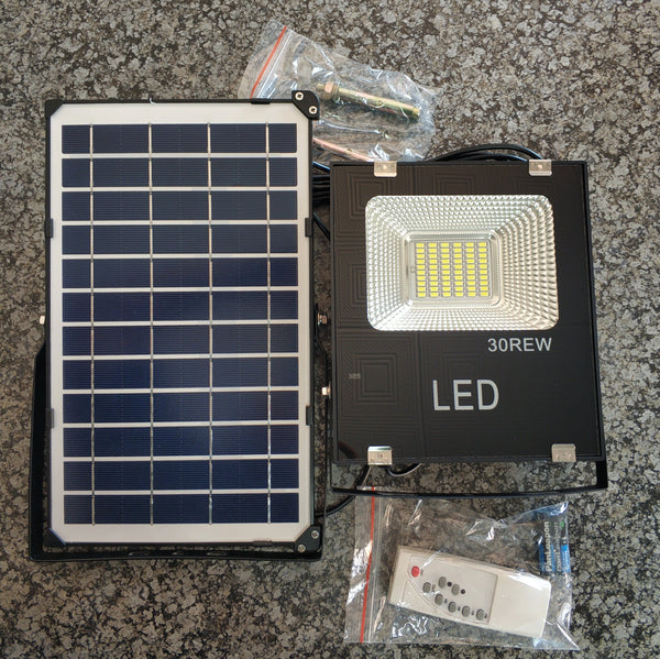 Digimark DGM-30REW 30Watt Solar LED Outdoor Floodlight