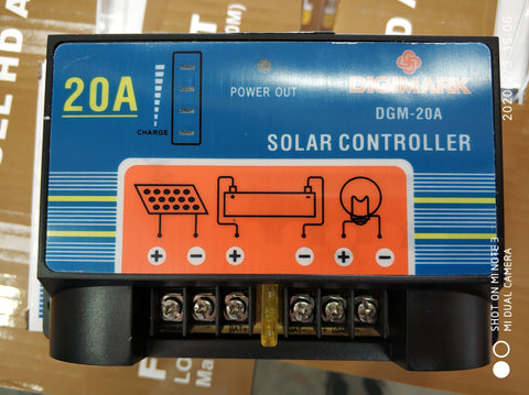 20A 12v Solar Charge Controller