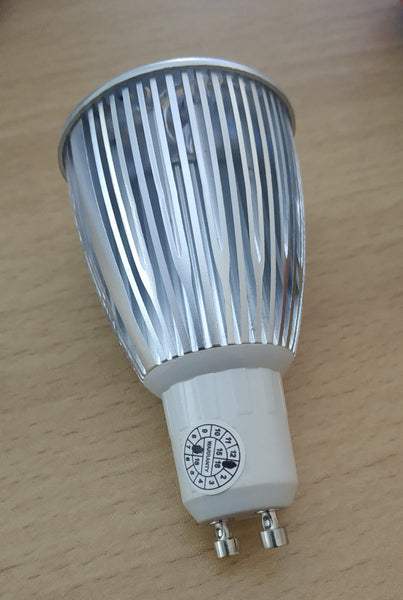 6w GU10 480Lumens LED Ceiling Light Bulb - Electromann SA