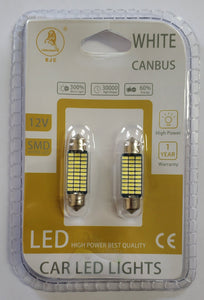Festoon 30 SMD 3014 41MM Canbus 12V LED Bulb
