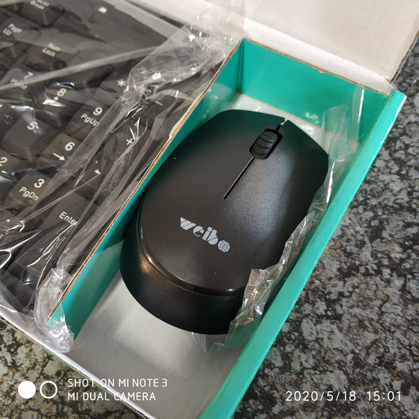 2.4ghz Wireless PC Keyboard and Mouse Combo