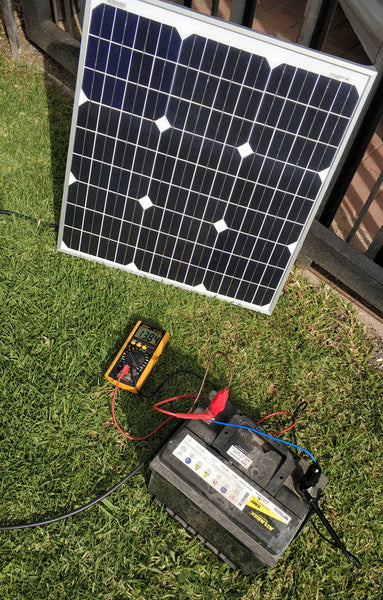 30W 10A Solar Car/Boat Battery Charger Kit
