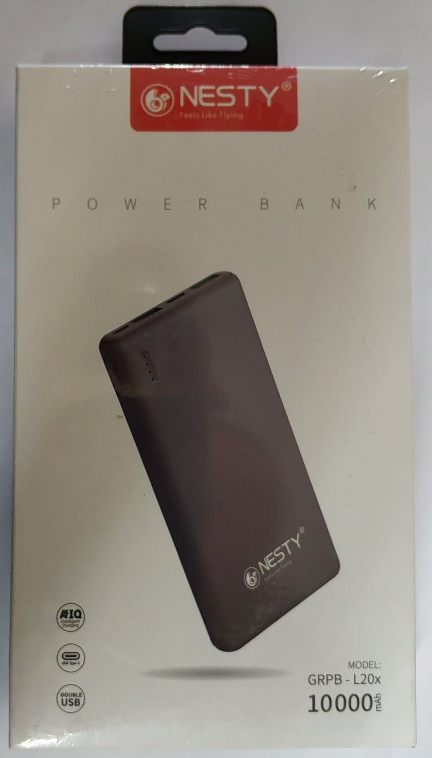 Nesty 10000mah Dual USB Power bank