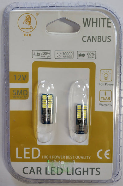 T10/W5W 24x 4014 Chips Canbus Led Bulb