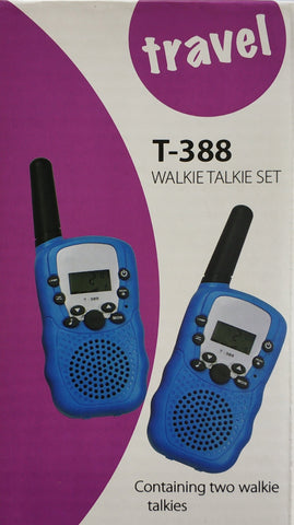 T388  Travel Walkie Talkie Set