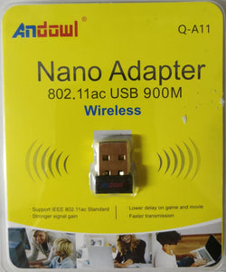 Andowl USB Wireless Nano Adapter 802.11ac