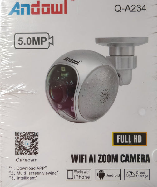 Andowl 5MP Wifi AI Zoom IP Camera