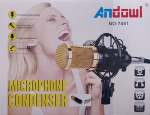 Andowl 7451 Microphone Condenser