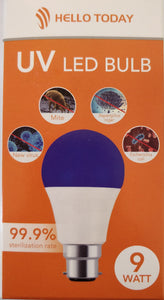 Hello Today 9watt B22 UV Led Bulb