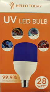 Hello Today 28watt B22 UV Led Bulb