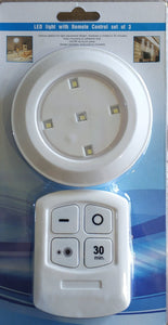 Remote Controlled Led Button Light