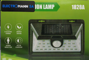 1828B Solar LED Motion Outdoor Lamp