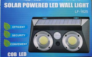 LF-1625 Solar Motion Sensor Wall LED Light