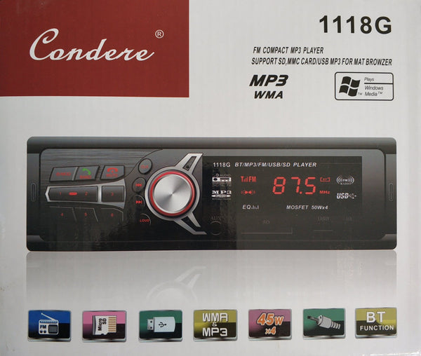 Condere 1118G Car Audio Stereo Player