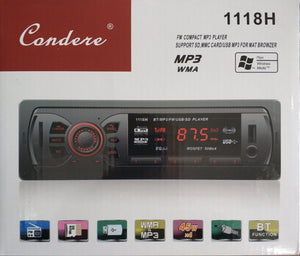 Condere 1118H Car Audio Stereo Player