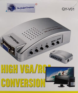 Andowl High Resolution VGA to Video Converter