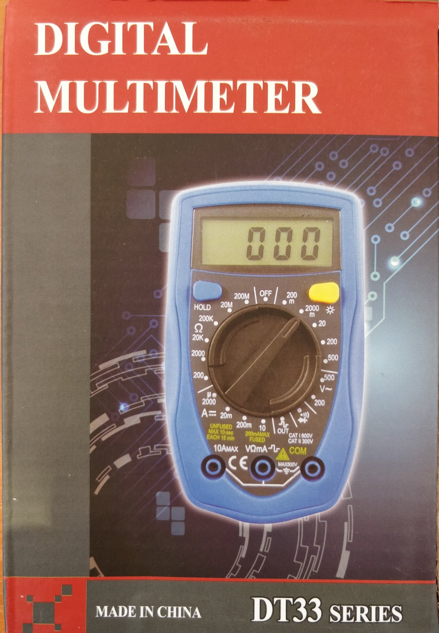 Digital Multimeter DT33