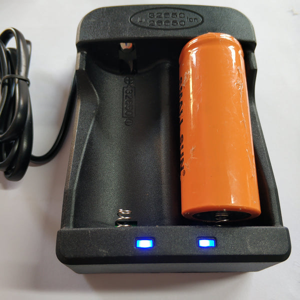 32650 Lithium 3.7v 2 Cell Charger