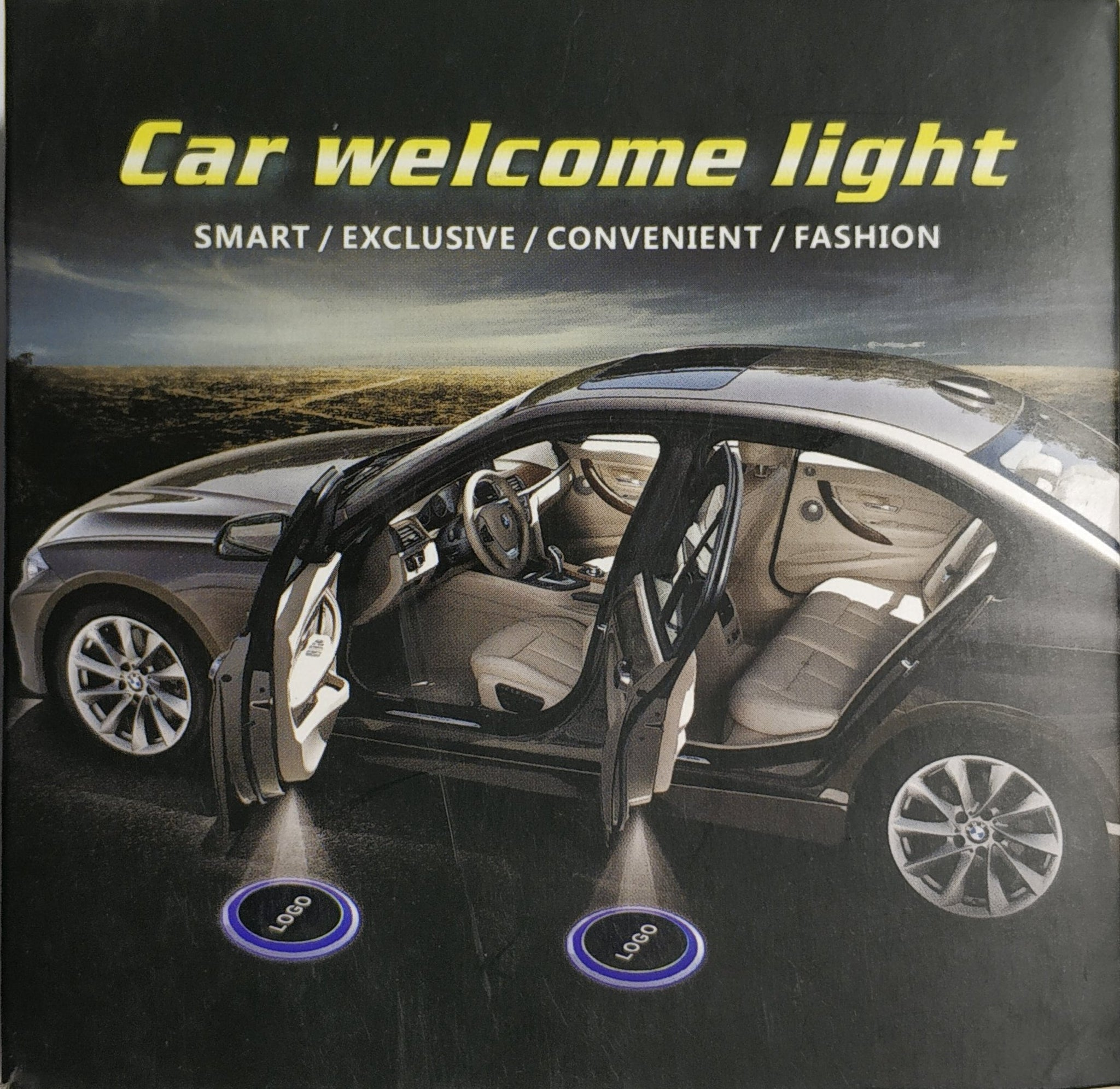 Car Door LED Logo Welcome Lights for VW
