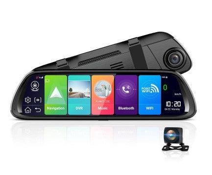 JUNSUN A960P 1080P 3G/WiFi Bluetooth Android 8.1 Car DVR with Rear View Camera