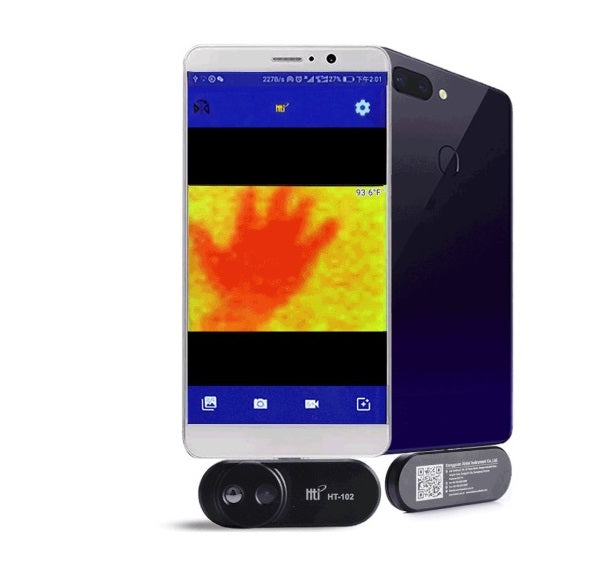 Mobile Phone Thermal Infrared Imager