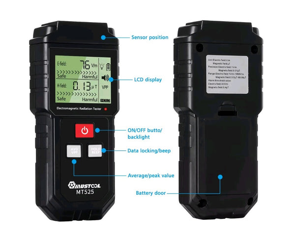 MUSTOOL MT525 Electromagnetic Radiation Tester