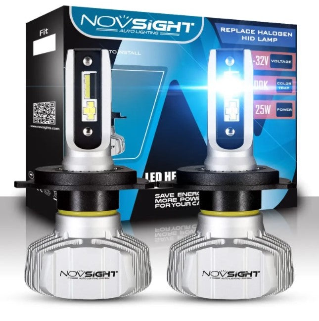NovSight A500-N15 50W 9005 10000LM LED Car Headlight Kit