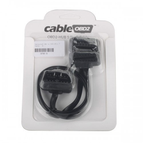 Cableobd2 OBD to HUB 9Pin T Cable for Diagnostic Adapters