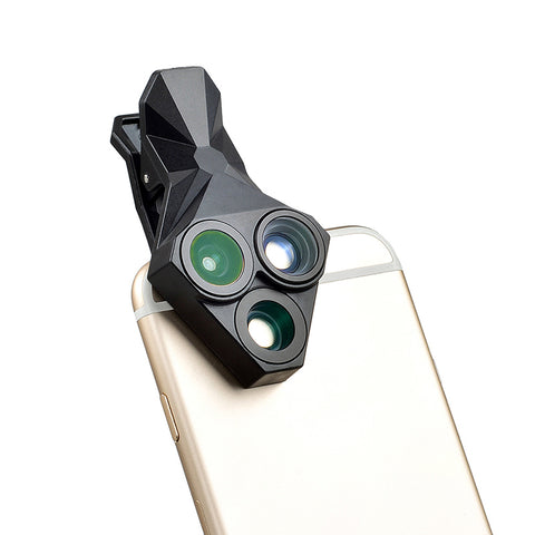 APEXEL 3 in 1 Smartphone Lens Kit
