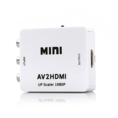 AV Video to HDMI Mini Converter Box