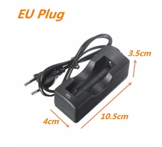 Single 18650 Type Li-ion Battery Wall Charger