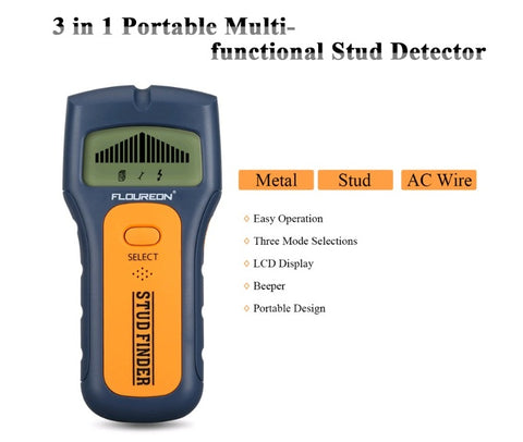 TS79 3 In 1 Stud Finder and Wood Detector