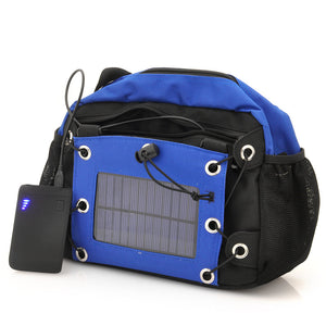 Camera Bag with Solar Panel - 2200mAh - Electromann SA