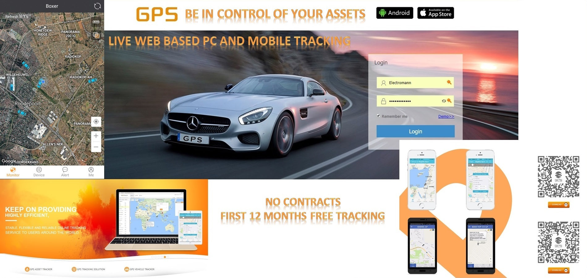 VT02S GPS Live Web Based Tracker