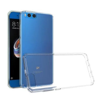Transparent Soft TPU Clear Cover Phone Case for Xiaomi Mi Note 3 - Electromann SA