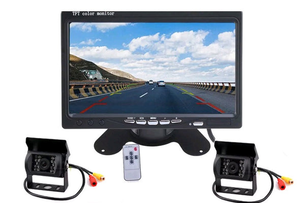Car and Truck Rear View Backup Camera System - Electromann SA