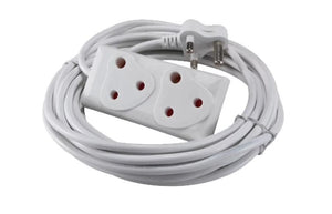 220v 3m Extension Cord With Two-Way Multi-Plug - Electromann SA