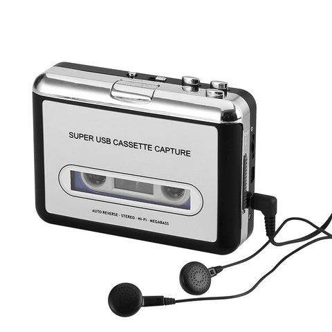 Cassette Tape-to-MP3 Converter - Electromann SA