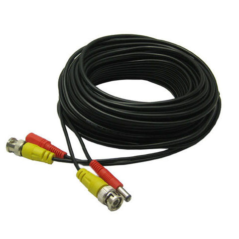 2 in 1 CCTV Cable 50m - Electromann SA