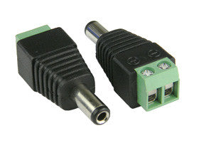 DC Male Quick Connector - Electromann SA