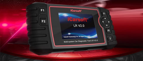 iCarsoft LR v2.0 Diagnostic Tool for Land Rover - Electromann SA