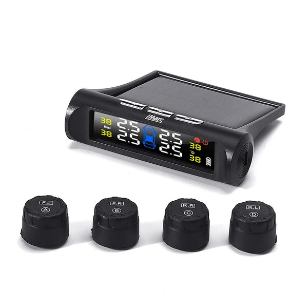 iMars T240 TPMS Solar Power Tire Pressure Monitor System