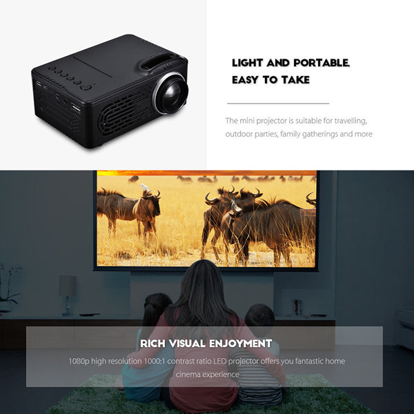 Mini LED Projector - Electromann SA