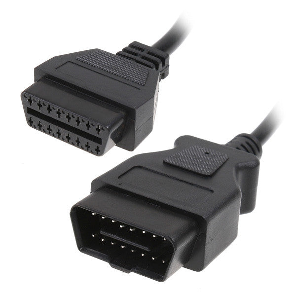 OBD-II 16Pin Male to Female Extension Cable - Electromann SA