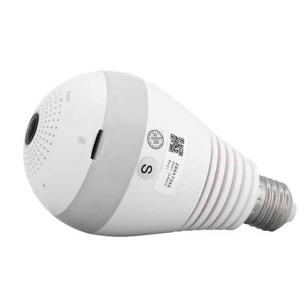 360-Degree IP Camera Light Bulb - Electromann SA