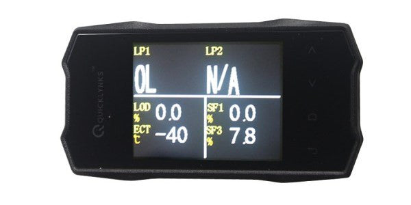 "QUICKLYNKS (TG6) TurboGauge VI 2.8"" Color Screen Auto Trip Monitor - Electromann SA"