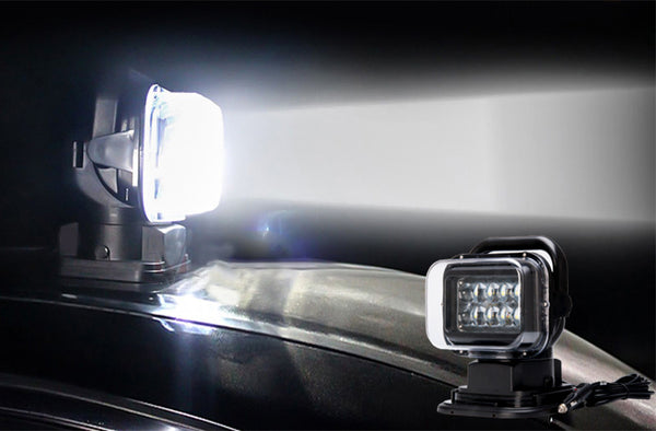 Car LED Search Light 50W, 3200 Lumens - Electromann SA