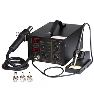 2 in 1 SMD Soldering Rework Station