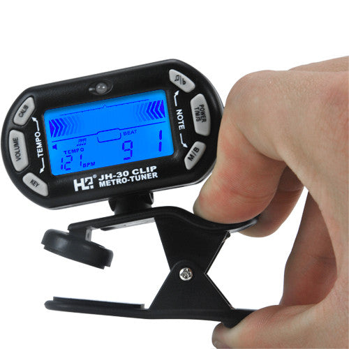 Guitar Tuner Clip (Mini 3-in-1 Edition) - Electromann SA