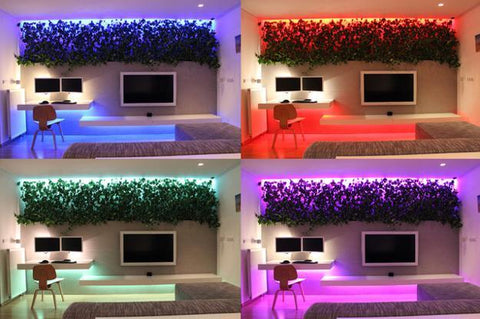 Color changing LED lighting